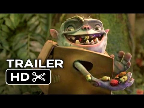 The Boxtrolls Teaser TRAILER 3 (2014) - Ben Kingsley, Elle Fanning Movie HD