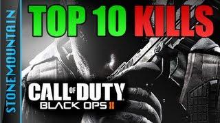 Black Ops 2: Top 10 Kills (BO2 Best Killcams, Collaterals, Quickscopes, HeadShots, Feeds) ten