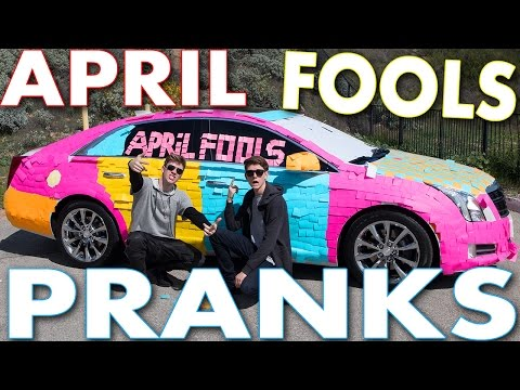 APRIL FOOLS PRANKS | Collins Key