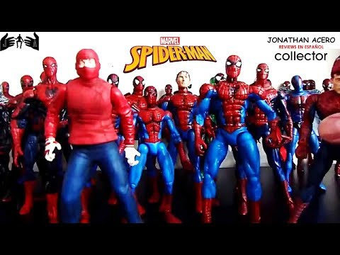 Marvel Legends reviews en español: COLECCION SPIDERMAN