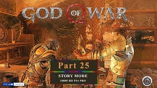 God of War 4 Part 25 Walkthrough (PS4 Pro) HD 1080 60p