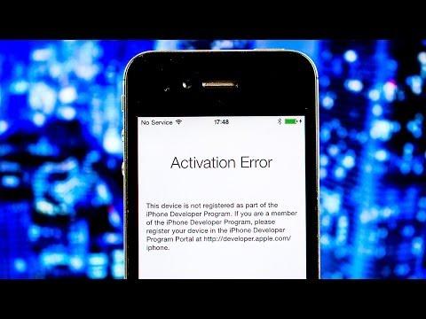 FIX iOS 8 Activation ERROR | Unbrick iOS 8 locked device