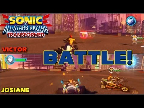 Sonic & All-Star Racing Transformed - PC Battle