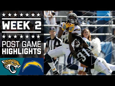 Jaguars Vs Chargers Nfl Week 2 Game Highlights