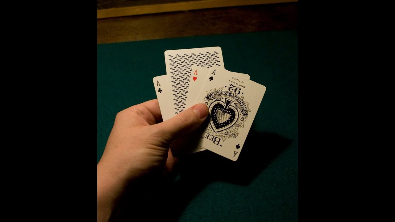 Card Tricks Twisting The Aces