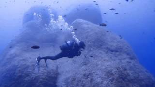 Malta Dive Sites - Middle Finger,  Ras il-Hobz, Gozo