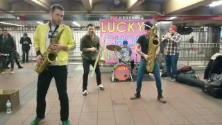 TOO MANY ZOOZ /LUCKY CHOPS  Funky town i feel good