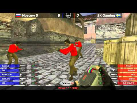 Moscow Five vs SK @ WCG 2011 (2)