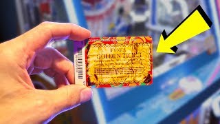 I WON THE GOLDEN TICKET JACKPOT ALMOST INSTANTLY!