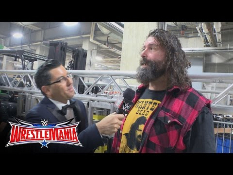 "Mick Foley talks about his new ""WrestleMania Moment"": WrestleMania Exclusive, April 3, 2016"