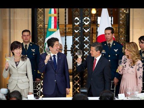 Comida en Honor del señor Shinzo Abe y su esposa la señora Akie Abe