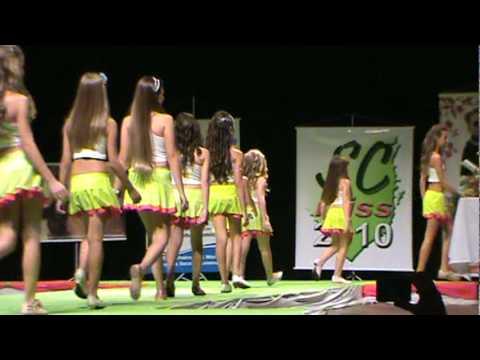 Concurso de Miss Mirim e Infantil SC 2010