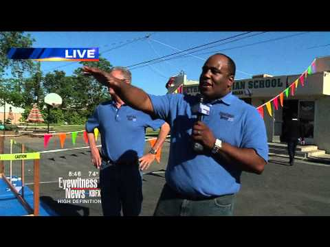 KBAK/KBFX Live hit: Launching Weather Balloon at Bethel Christian School - 05-14-13