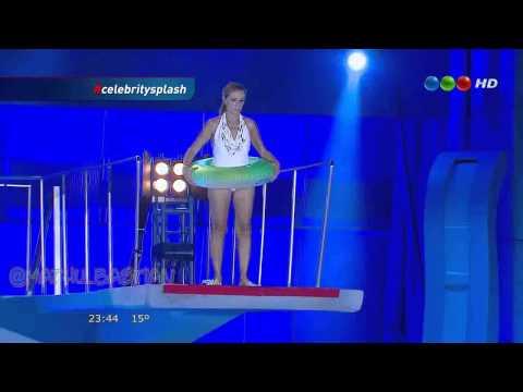 Celebrity Splash - Programa 4 / Salto Gladys Florimonte