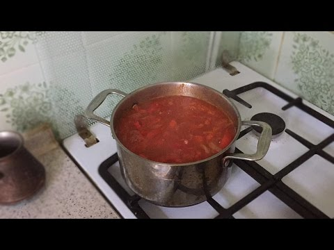 Лечо из перца и помидор / Домашний рецепт!