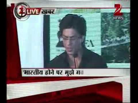 Zee News : ShahRukh Khan hits back admist controversy on Pakistan...