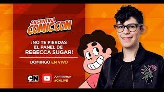 Panel de Rebecca Sugar desde Argentina Comic-con 2018
