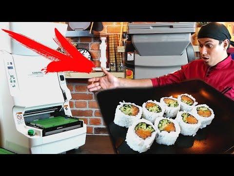 Вкусные Суши, делают РОБОТЫ!