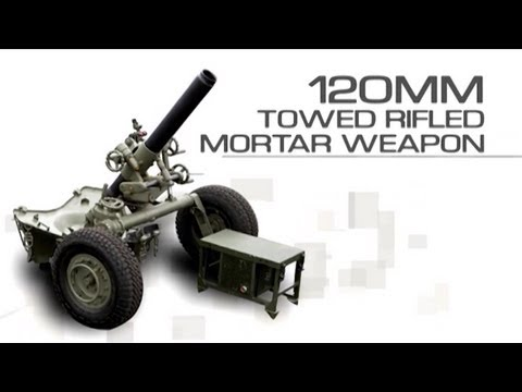 General Dynamics Ordnance & Tactical Systems - 120mm Expeditionary Fire Support System (EFSS) [720p]