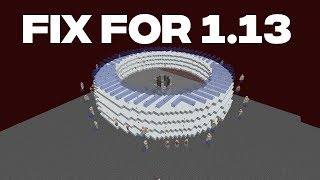 Nether Gold/XP Farm Fix For 1.13
