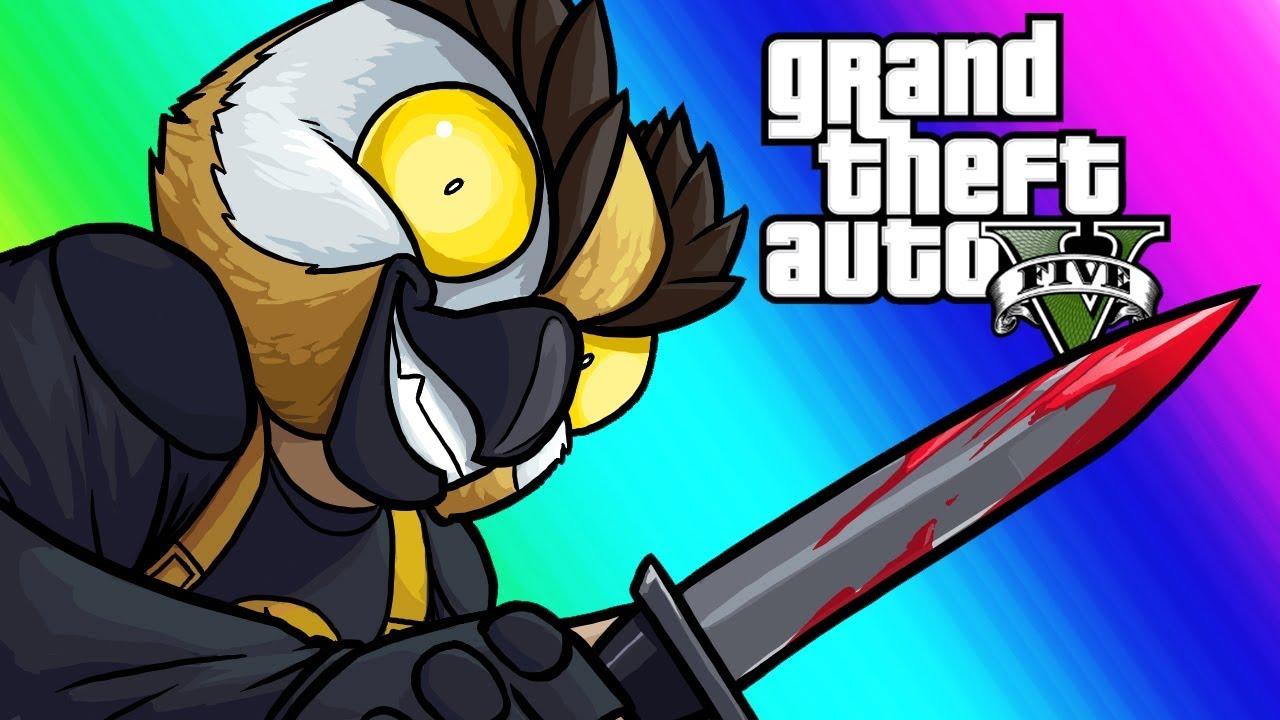 GTA5 Online Funny Moments - Murder Maze 2017!
