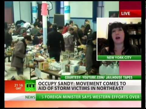Occupy Sandy aids storm victims