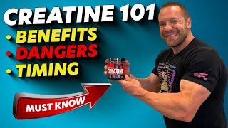 Creatine Benefits & Dangers - Creatine While Cutting