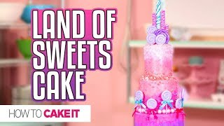 LAND OF SWEETS CAKE from Disney's Nutcracker | PRIZE PACK GIVEAWAY!! | How To Cake It