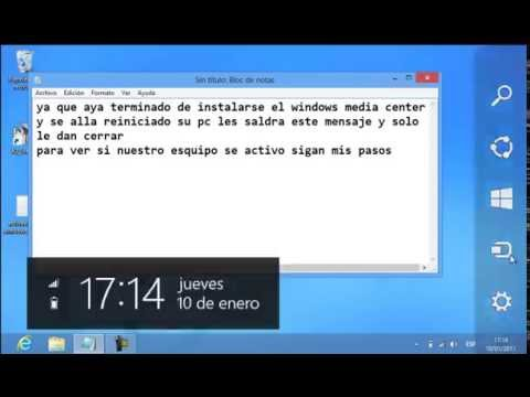 Activar windows 8 pro con media center full ( 2013 ) nuevo link diciembre 2013
