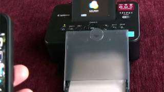 Review Canon Selphy CP900 photo printer dye sublimation