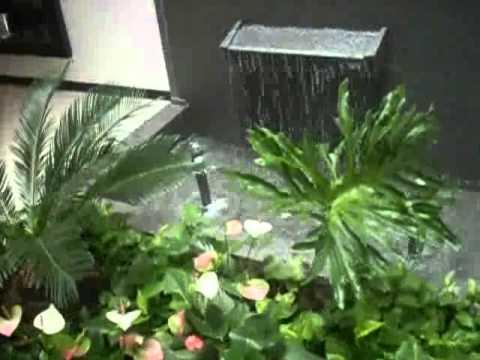 Muro lloron y fuente tipo hongo youtube - Muro de agua ...