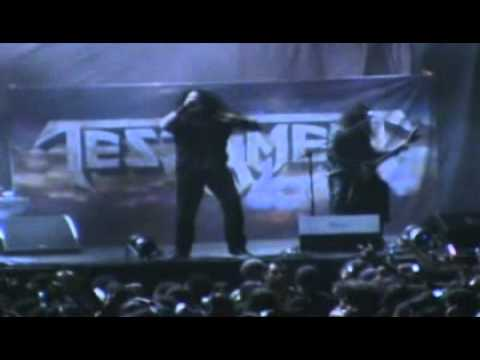 TESTAMENT OVER THE WALL MEXICO 2008 W GLEN DROVER ON GUITAR
