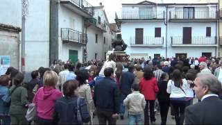 Processione San Francesco 2012 a Sartano (CS)