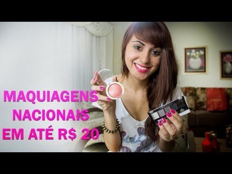 | Maquiagens Nacionais em até R$ 20 | by Jana Make Up