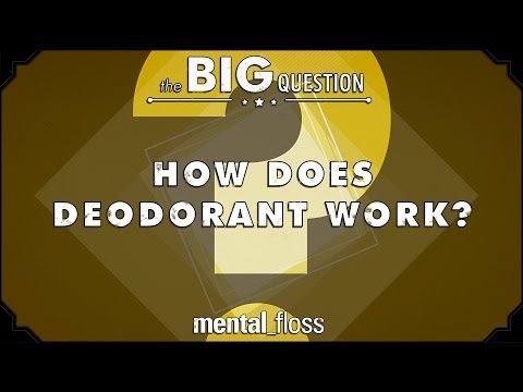 How Does Deodorant Work? - The Big Question (Ep.3)