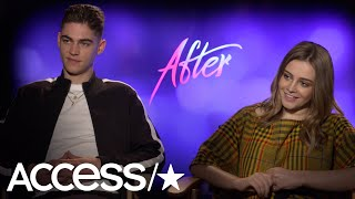 'After': Hero Fiennes-Tiffin & Josephine Langford Reveal If They're Directioners | Access