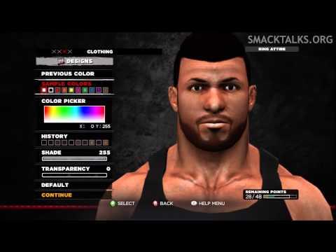 WWE '13 Camacho CAW Formula by WhatsTheStatus