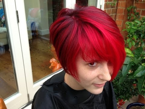 The Best Red Hair Colour? A Vibrant Cherry Red Colour Refresh.