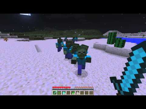 MINECRAFT: ATAQUE REAL DE ZOMBIES MOD 1.7.2
