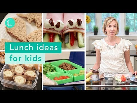 Back to School: Kids Lunch Ideas