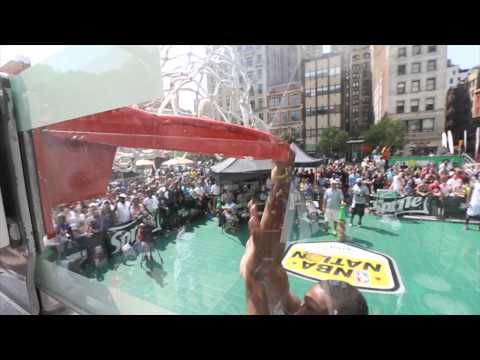 Sprite Slam Dunk Showdown 2014: New York video