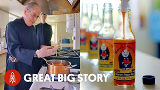 Meet the Monks Behind a Wicked Hot Sauce