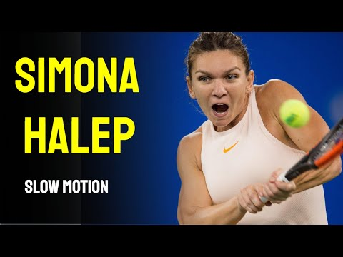 Simona Halep Slow Motion Compilation
