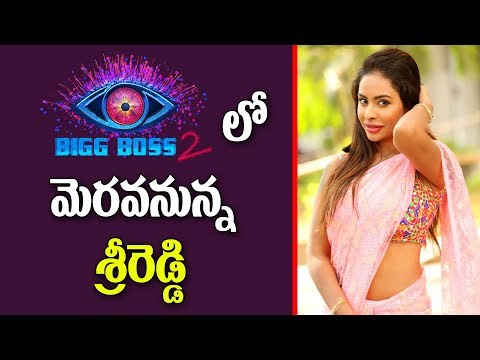 Sri Reddy in Big Boss Season 2 Telugu | Big Boss Season 2 Participants Final List | Y5 tv |