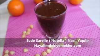 Evde Sarelle ( Nutella ) Nasıl Yapılır