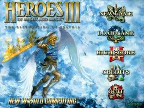 Heroes of might and magic iii - Main Menu theme