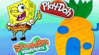 Play Doh Spongebob Squarepants house Playdough toy