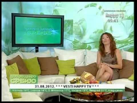Tijana Marković sexy crossed legs