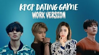 KPOP DATING GAME (WORK EDITION)