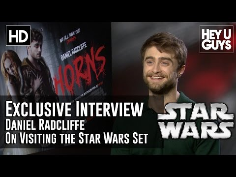 Daniel Radcliffe on Visiting the Star Wars Set